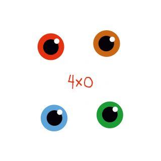 TUTATA Tattoo Motiv Auge 4.0