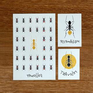 TUTATA Tattoos Bundle Die Ameisen sind los